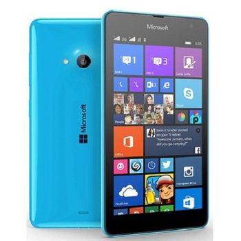 Microsoft Lumia 535 Dual Cyan