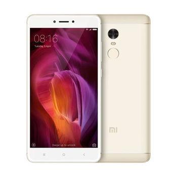"""Xiaomi RedMi Note 4 16GB Gold,  DualSIM, 5.5"""" 1080x1920 IPS, Mediatek MT6797, Deca-Core up to 2.1GHz, 2GB RAM, Mali-T880 MP4, microSD (SIM 2 slot), 13MP/5MP, LED flash, 4100mAh, WiFi-AC/BT4.1, LTE, Android 5.1 (MIUI8), Infrared port, Fingerprint"""