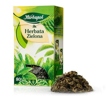 купить Чай зеленый Herbapol, 80 г в Кишинёве