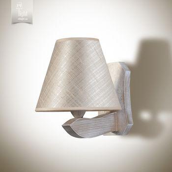 купить N&B Light Бра Монреаль 6701-1 серо-роз., бело-золотая структура в Кишинёве