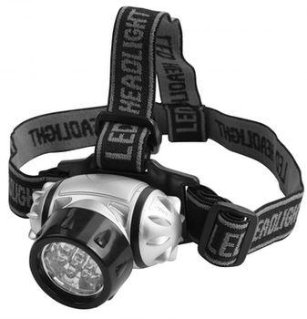 купить Фонарик светодиодный налобный 7LED/50LM (3 позиции) TOLSEN в Кишинёве