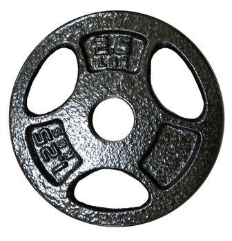 купить Диск металлический 1,25 kg d=30 мм DeG (1459) в Кишинёве