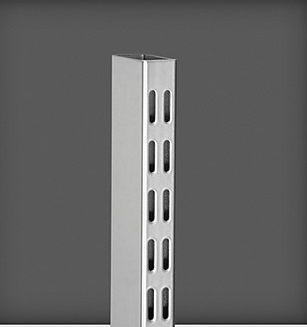 cumpără Picior  perforație dublă 1580x25x50 mm, argintiu în Chișinău