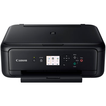 MFD Canon PIXMA TS5140 Black, Colour Print/Scan/Copier/Card Readers,Wi-Fi+Cloud Link,  A4, Print 4800x1200dpi_2pl,Scan 1200x2400dpi,ESAT 12.6/9.0ipm, 64-300г/м2,Paper Input: 100sheets,USB 2.0, Display LCD 7.5cm,5-ink tanks PGI-470/470XL BK,PGBK,C,M,Y