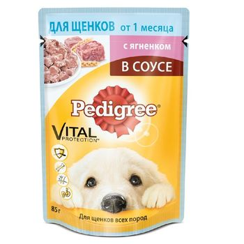 купить Pedigree для щенков Ягненок в соусе в Кишинёве