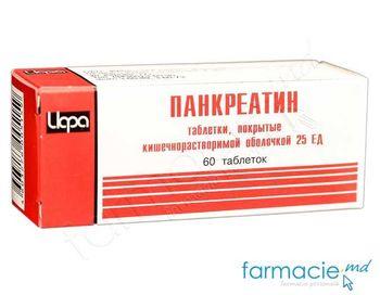cumpără Pancreatin comp. gastrorez. 25 UA N60 (Irbit) în Chișinău