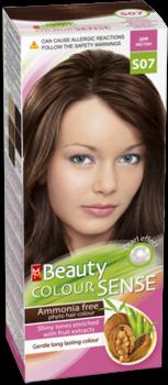 Краска для волос,SOLVEX MM Beauty Sense, 125 мл., S07 - Дикий каштан