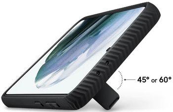 купить Чехол для моб.устройства Samsung Galaxy S21+ EF-RG996 Protective Standing Cover Black в Кишинёве