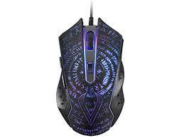 Игровая мышь Qumo Valhalla, оптическая, 1200-3200 dpi, 6 кнопок, Soft Touch, 4-х цветная подсветка, USB