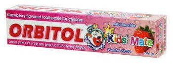 купить Orbitol Детская зубная паста со вкусом клубники (145 г) 289595 в Кишинёве
