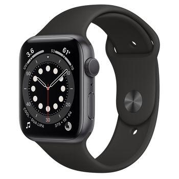 Apple Watch 6 44mm (M00H3), Space Gray / Black