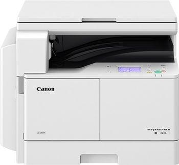 MFP Canon iR2206N, Mono Copier/Net Printer/Scanner, Platen, A3/11ppm, A4/22ppm, print 600x600dpi, scan 300x300dpi, 25–400%, 64-128g/m2, 128Mb,1x250-sheet Cassette+80, 10k pag per month, Set : Drum C-EXV42_66k pag, Not in set - Toner C-EXV42_10200 pag