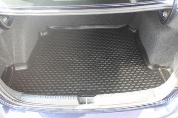 VW Polo 2010->, сед. Коврик в багажник