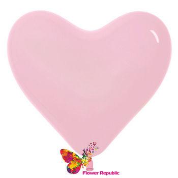 купить Шар в форме Сердца , цвет Бледно-розовый- 25 см в Кишинёве