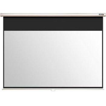 Acer M90-W01MG (MC.JBG11.001) Auto-Lock Manual Projection Screen, 196x110 (16:9) Wall & Ceiling Matt White