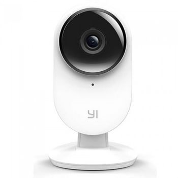 Xiaomi YI 1080P Home Camera EU, White, IP Camera, WiFi, Video resolution: 1080p, 112° wide-angle lens, Built-in Microphone and Speaker (2-way audio connection), Infrared Night Vision Sensor, Baby crying, MicroSD up to 64GB, Andoid/iOS