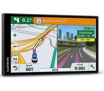 """GARMIN Drive 61 LMT-S, Licence map Europe+Moldova, 6.0"""" LCD (800*480), MicroSD, Garmin Guidance 2.0, Junction view, Lane assist, Foursquare POIs, Lifetime traffic updates, Speaks street names, Trip planner, Battery life up to 1 hours, 170.8g"""