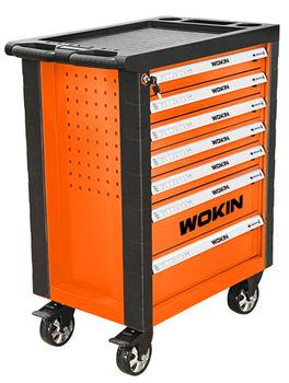 купить Роликовый шкаф для инструментов (7 отсеков )Wokin в Кишинёве