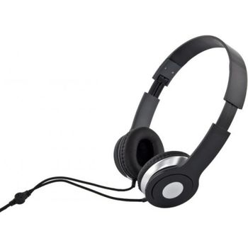 "Esperanza EH145K ""TECHNO"" Black, Stereo audio Headphones with Volume control, 3 m cable lenght"