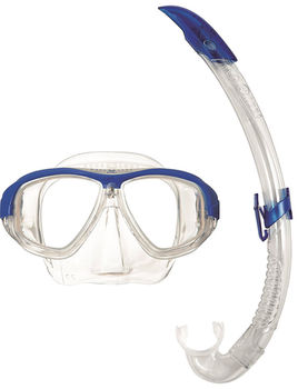 купить Маска и трубка для ныряния Aqualung Coral Blue в Кишинёве