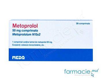 купить Metoprolol comp.50 mg N15x2 в Кишинёве