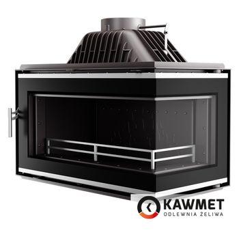 купить Каминная топка KAWMET W16 14,7 kW с правым боковым стеклом без рамы в Кишинёве