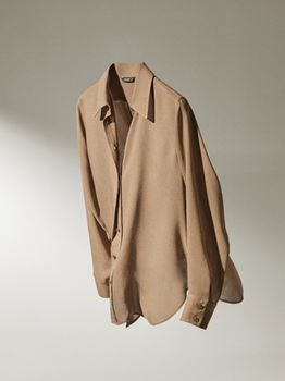 Блуза Massimo Dutti Беж 5107/570/706