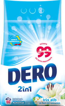 купить Dero 2in1 Белый Ирис и Ромашка, 6 кг. в Кишинёве