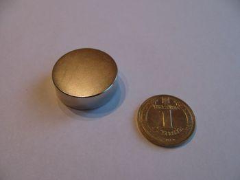 Магнит Ø D30 mm х H10 mm