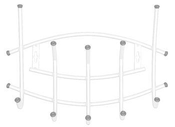 купить Вешалка настенная Ника-Премиум (арт. ВНП3) в Кишинёве