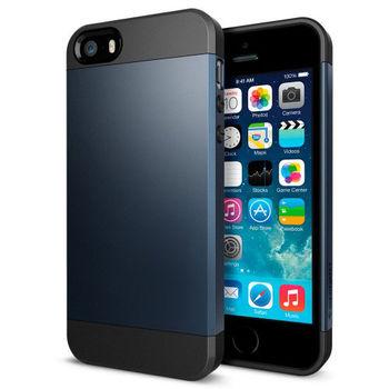 Чехол для iPhone 5 / 5S Slim Armor темно-синий