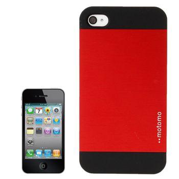 """Чехол """"MOTOMO"""" красный для iPhone 4 / 4S"""