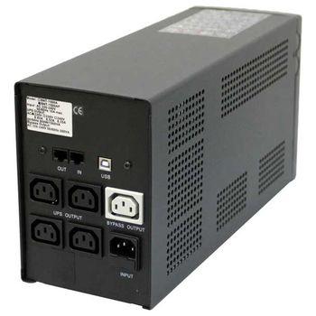купить POWERCOM UPSBNT-1200AP, черный в Кишинёве