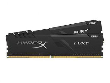 8GB DDR4 Kingston HyperX FURY Black HX432C16FB3/8 DDR4 PC4-25600 3200MHz CL16, Retail (memorie/память)