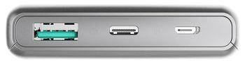 купить Аккумулятор внешний USB (Powerbank) Platinet PMPB10QIBP в Кишинёве