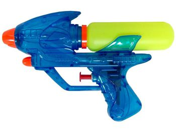 Пистолет водяной прозрачный средний 18cm
