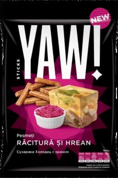 Сухарики со вкусом холодец с хреном Yam Sticks, 60г