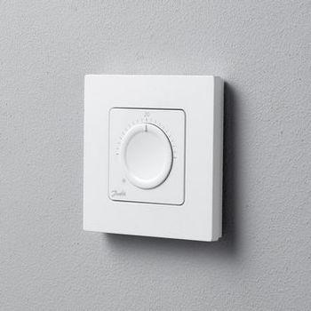 купить Danfoss Icon дисковый комнатный термостат, 230 В, встраиваемый в Кишинёве
