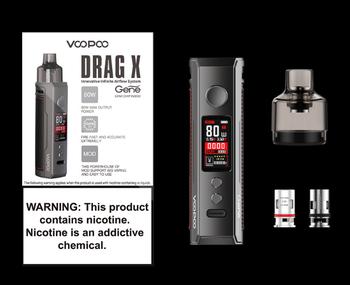 купить VOOPOO DRAG X 80W в Кишинёве