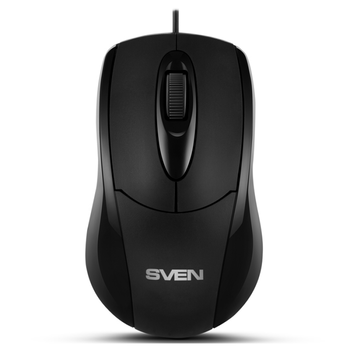 купить SVEN RX-110, Optical Mouse, 1000 dpi, USB, Black в Кишинёве