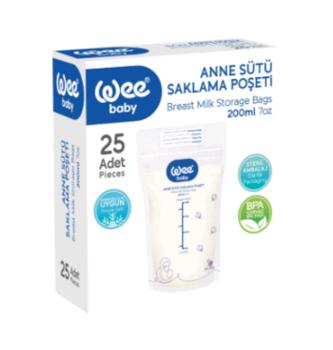 купить Wee Baby пакеты для хранения грудного молока, 25шт в Кишинёве
