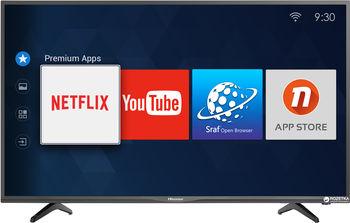 """купить """"32"""""""" LED TV Hisense 32N2170HW, Black (1366x768 HD Ready, SMART TV, PCI 800Hz, DVB-T/T2/C/S2) (32'' DLED 1366x768 HD Ready, PCI 800 Hz, SMART TV (VIDAA Lite 2 OS), H.264,MPEG4, MPEG2,VC1, 3 HDMI 2.0, 2 USB (foto, audio, video), Wi-Fi (802.11 b/g/n 2.4 GHz), DVB-T/T2/C/S2,  OSD Language: ENG, RU, Speakers 2x8W, 4.4 Kg)"""" в Кишинёве"""