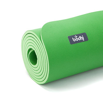 Mat pentru yoga  Bodhi ECOPRO DIAMOND GREEN -6mm