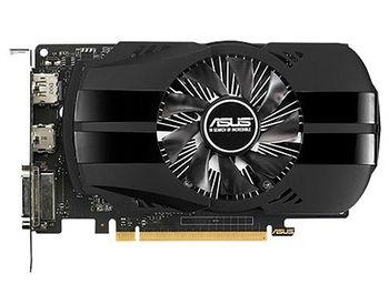 ASUS Phoenix PH-GTX1050TI-4G, GeForce GTX1050Ti 4GB GDDR5, 128-bit, GPU/Mem clock 1392/7008MHz, PCI-Express 3.0, DVI-D/HDMI/Display Port (placa video/видеокарта)