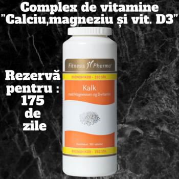 Витаминный комплекс «Кальций с магнием и витамином D3»