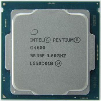Intel® Pentium® Dual-Core G4600, S1151, 3.6GHz, 3MB Cache, Intel® HD Graphics 630, 14nm 51W, tray