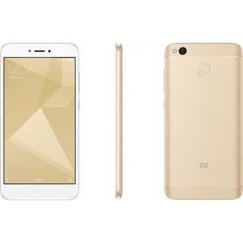 "купить 5.0"" Xiaomi RedMi 4X 32GB Gold 3GB RAM, Qualcomm Snapdragon 435 Octa-core 1.4GHz, Adreno 505, DualSIM, 5"" 720x1280 IPS 296 ppi, microSD, 13MP/5MP, LED flash, 4100mAh, FM, WiFi, BT4.2, LTE, Android 6.0.1 (MIUI8), Infrared port, Fingerprint в Кишинёве"