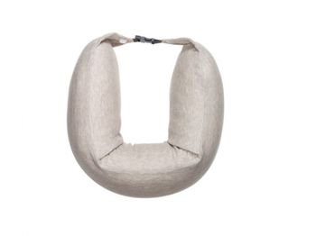 """XIAOMI """"8H Travel U Shaped Pillow"""" Sleeping Cushion, Cream, Material: Cotton, Occasion: Bedroom,Dining Room,Living Room,Office,School, 76 x 11 x 6.5 cm, 0.43 kg, Quality of the natural latex fluid from Rayong"""