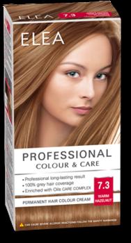Краска для волос,SOLVEX Elea, 138 мл., 7.3 - Лесной орех