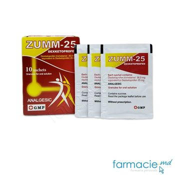 cumpără Zumm-25 gran./sol. orală 25 mg N10 în Chișinău